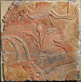 Tomb relief with hunting scene