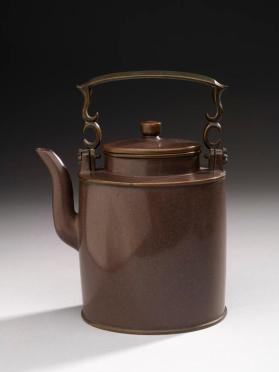 Cover of Yixing ware teapot