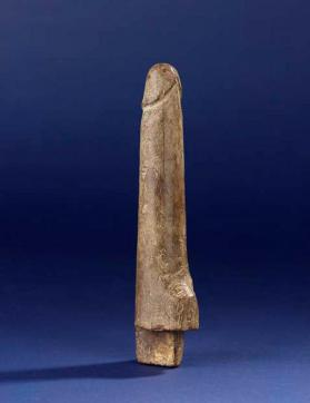 Phallus with tenon from figure