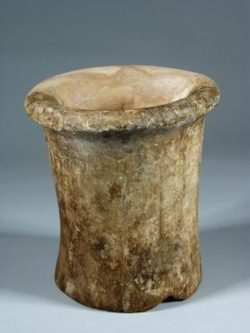 Concave-sided beaker