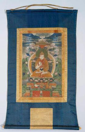 Thangka painting of Tsong Khapa