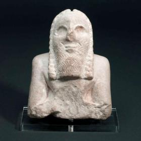 Figure of male worshipper (fragment)