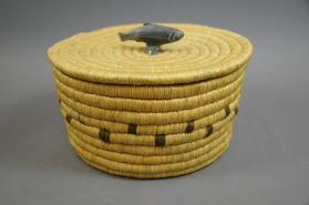Basket and lid