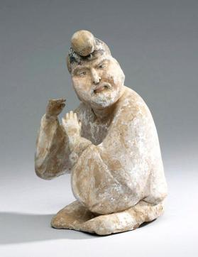 Burial figure of a foreign musician