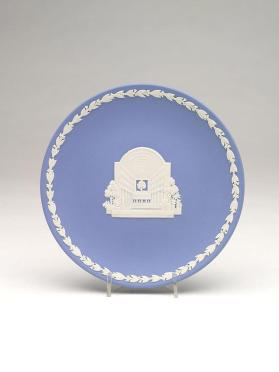 Commemorative dish