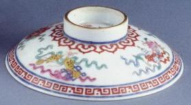 Jingdezhen ware bowl and cover
