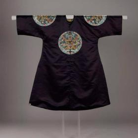 Emperor's gunfu (surcoat) with imperial rank badges