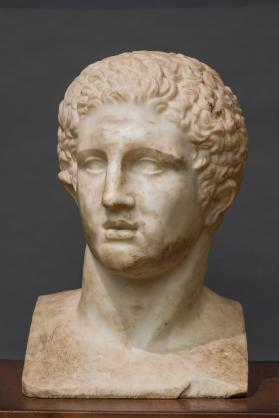 Head of young Herakles
