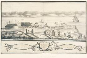 His Majesty's Dockyard At Halifax in 1760
