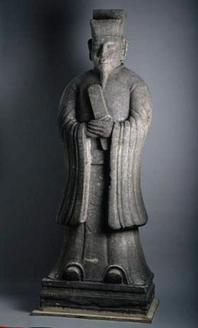 Funerary figure of civil official