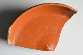 Fragment of a Samian ware dish
