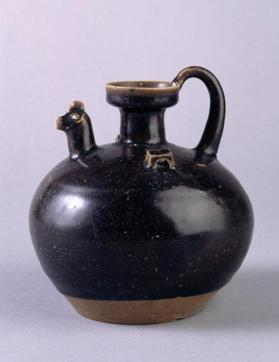 Deqing ware or Yuhang ware? ewer with chicken-headed spout