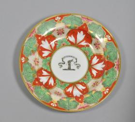 Soup plate, Dinner Service of Daniel Fowler