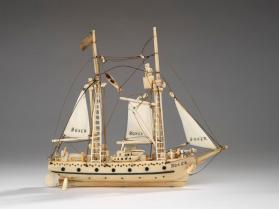 Model ship, the USS Boxer
