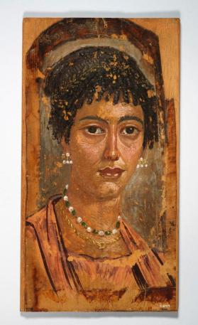 Mummy portrait of a young woman