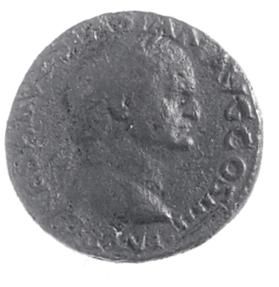Assarius coin of Vespasian