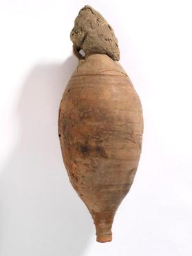 Amphora capped with mud stopper