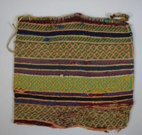 Twined yarn bag