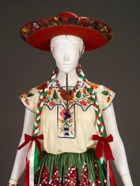 Blouse of woman's festival costume