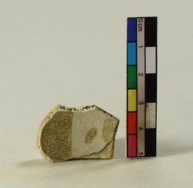 Lustre-ware bowl fragment (body sherd)