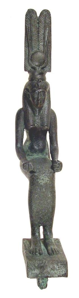 Figure of Hathor in human form