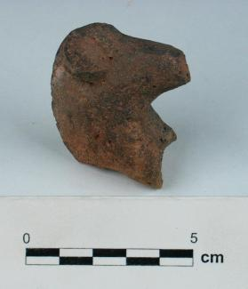 Horse figurine head