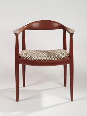 "Armchair, known as the ""Round Chair"" or ""The Chair"""