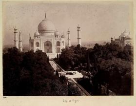 Taj Mahal from photograph album of Views of India