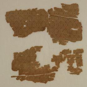 Fragment of figured silk