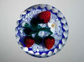 Strawberries paperweight