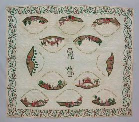 Quilt with scenes from the Life of Joseph