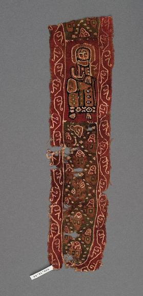 Fragment of a tapestry band