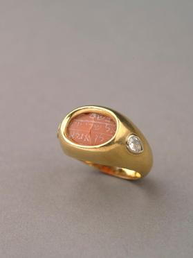 Amulet in ring (Kemi'ah)