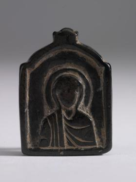 Pendant depicting Virgin wearing a maphorion