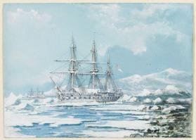 First Winter in the Ice at Beachey Island, Sir John Franklin's Last Expedition