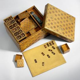 Incense game box and pieces