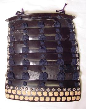 Sode (shoulder guard) from suit of samurai armour