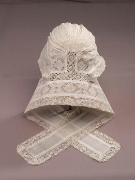 Infant's christening cap