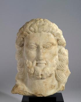 Head of Zeus figure