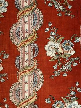 Furnishing textile panel