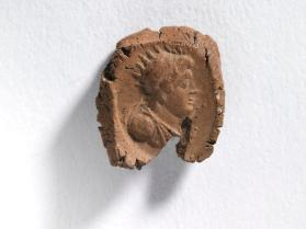 Seal impression with bust of Ptolemy II Philadelphus