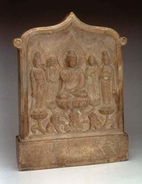 Buddhist stele of Huang Xingji
