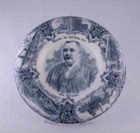 "Plate, commemorating ""Hamilton, The Electrical City"""