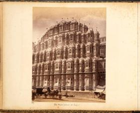 The Wind palace at Jeypur, from photograph album of Views of India