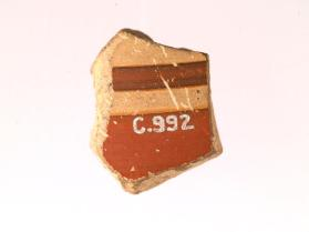 Fragment, possibly from a cup (kotyle).