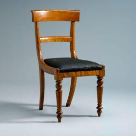Dining chair with original horsehair seat