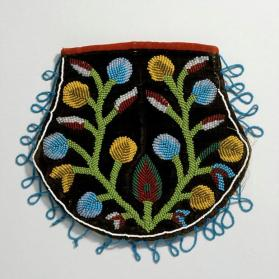 Beaded pouch