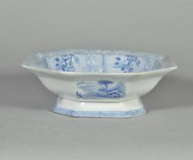 "Bowl in ""Ontario Lake Scenery"" pattern"