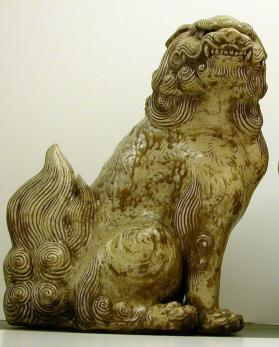 Figure of a lion