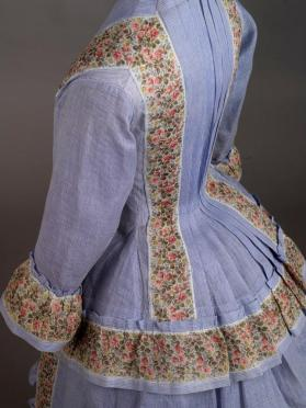 Bodice of woman's 3-piece summer day dress